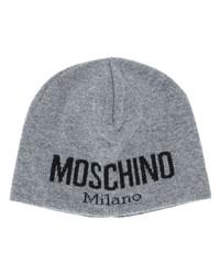 Moschino Intarsia Logo Beanie