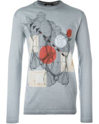 Anatomy print t shirt medium 640114