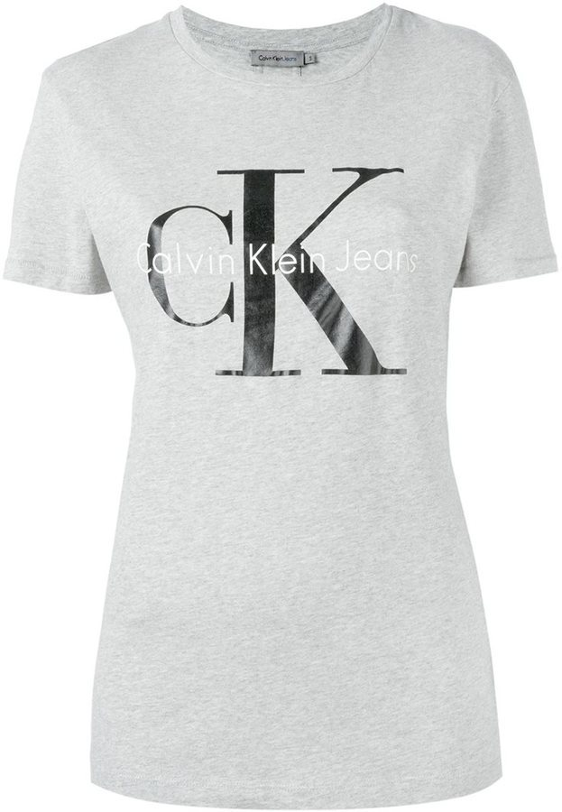 090abd1c353c0 Calvin Klein Jeans Logo Print T Shirt | Where to buy & how to wear