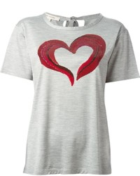 Marc Jacobs Heart Print T Shirt
