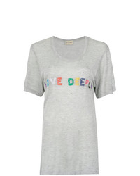 Andrea Bogosian Love Deeply Embroidery T Shirt