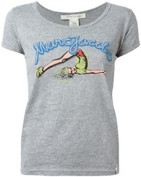 Marc Jacobs Pin Up Print T Shirt