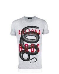 DSQUARED2 Snake Motif T Shirt