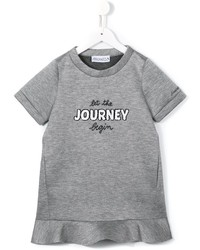 Simonetta Let The Journey Begin Printed Dress