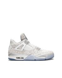 Jordan Air 4 Retro Laser Sneakers