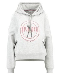 Tommy Hilfiger Gigi Hadid Open Shoulder Sweatshirt Grey