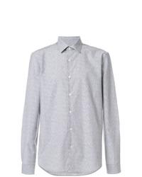 Versace Collection Logo Jacquard Shirt