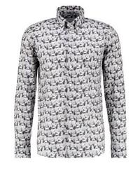 Slim fit shirt grey medium 3777355