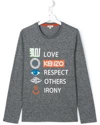 Kenzo Kids Printed T Shirt