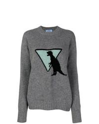 Prada Dinosaur Sweater