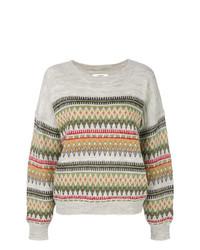 Isabel Marant Etoile Isabel Marant Toile Jacquard Pattern Sweater