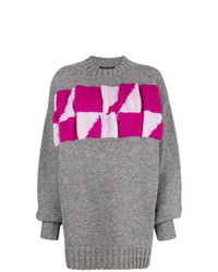 Calvin Klein 205W39nyc Oversized Colour Block Jumper