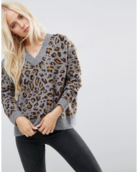 Sweater in leopard print medium 1211300