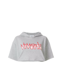 Vivetta Short Sleeve Logo Hoodie
