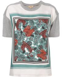 Burberry Beasts Print T Shirt