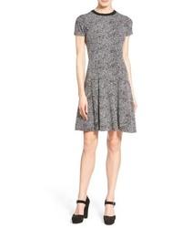 MICHAEL Michael Kors Michl Michl Kors Hagen Print Short Sleeve Sweater Dress