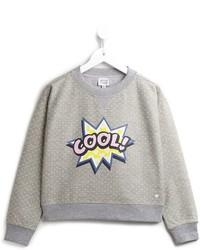 Armani Junior Cool Print Sweatshirt