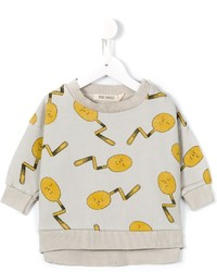 Bobo Choses Happy Spoon Print Sweatshirt
