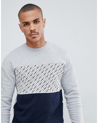 Jack & Jones Core Panel Print Sweatshirt