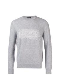 Ermenegildo Zegna Logo Sweatshirt