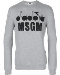 MSGM X Diadora Graphic Printed Sweatshirt
