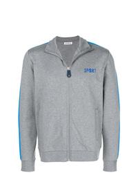 Dirk Bikkembergs Zip Front Printed Sweatshirt