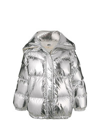 MM6 MAISON MARGIELA Oversized Reflective Puffer Jacket
