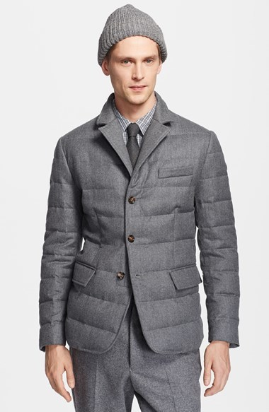 ... Moncler Rodin Wool Down Blazer Jacket ...