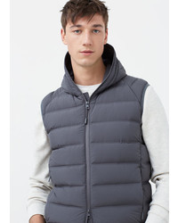 Mango Man Quilted Lightweight Feather Gilet