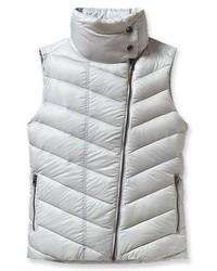 Grey Quilted Vest