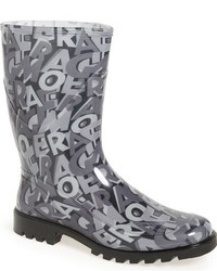 Salvatore Ferragamo Farabel Rain Boot