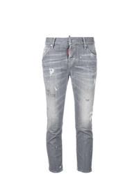 Dsquared2 Boyfriend Cropped Jeans