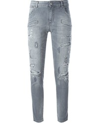 Distressed skinny jeans medium 654459
