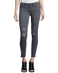 Le skinny de jeanne jeans grays inn rip medium 401225