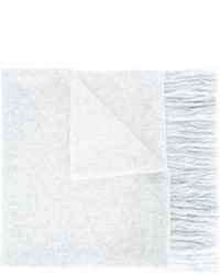 AMI Alexandre Mattiussi Scandinavian Pattern Knitted Scarf