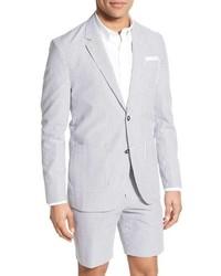 Singer sargent regular fit seersucker cotton blazer medium 639460