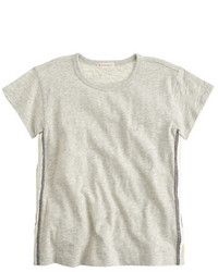 Grey Sequin T-shirt
