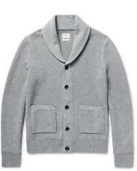 rag & bone Avery Shawl Collar Textured Knit Cotton Cardigan