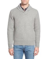 Regular fit shawl collar sweater medium 388978