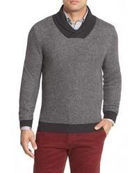 Shop regular fit shawl collar sweater medium 388980
