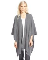 Halogen Ribbed Cape