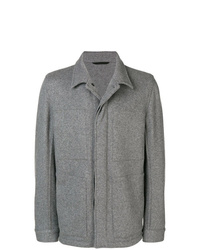 Ann Demeulemeester Concealed Front Fastening Jacket