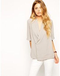 Asos Collection Wrap Blouse