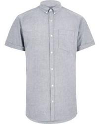 Grey Short Sleeve Shirt