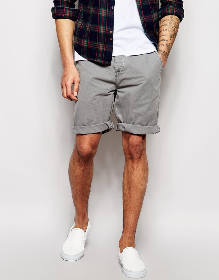 Asos Brand Chino Shorts In Longer Length | Where to buy & how to wear