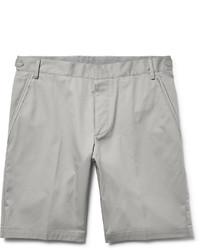 Slim fit cotton twill bermuda shorts medium 1245764
