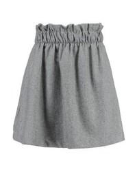 Nanette mini skirt medium grey melange medium 6714128
