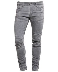 5620 3d Ankle Zip Super Slim Jeans Skinny Fit Bionic Grey Stretch Denim