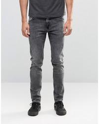 Weekday Friday Skinny Jeans Generic Gray Acid