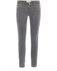 Frame Le Luxe Mid Rise Skinny Jeans